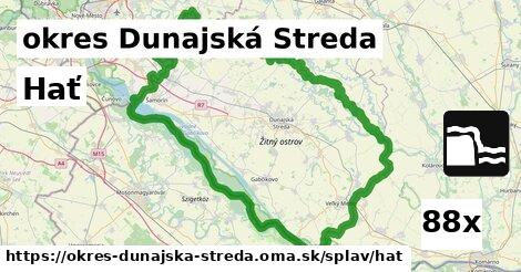 hať v okres Dunajská Streda