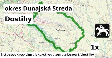 Dostihy, okres Dunajská Streda
