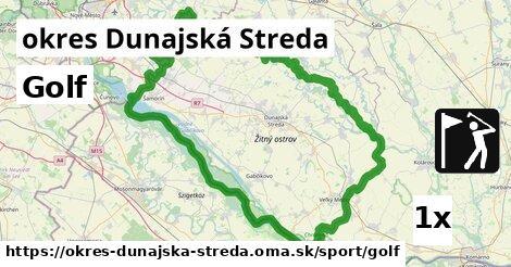 Golf, okres Dunajská Streda