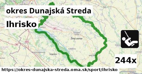 Ihrisko, okres Dunajská Streda