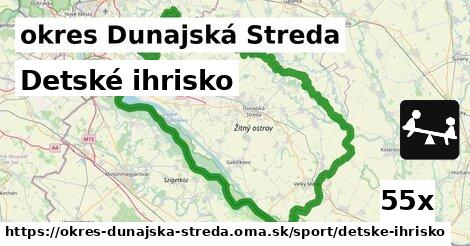 ilustračný obrázok k Detské ihrisko, okres Dunajská Streda
