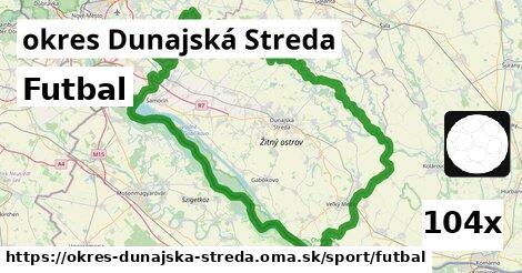 futbal v okres Dunajská Streda