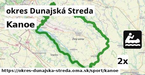 ilustračný obrázok k Kanoe, okres Dunajská Streda