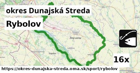 ilustračný obrázok k Rybolov, okres Dunajská Streda