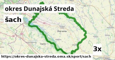 ilustračný obrázok k šach, okres Dunajská Streda