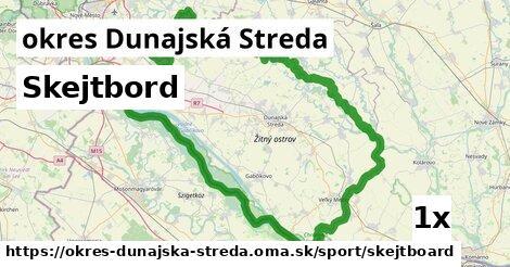 ilustračný obrázok k Skejtbord, okres Dunajská Streda