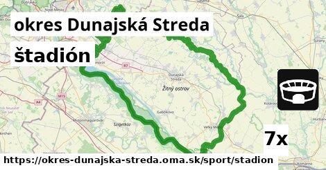 ilustračný obrázok k štadión, okres Dunajská Streda