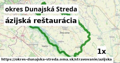 ázijská reštaurácia, okres Dunajská Streda