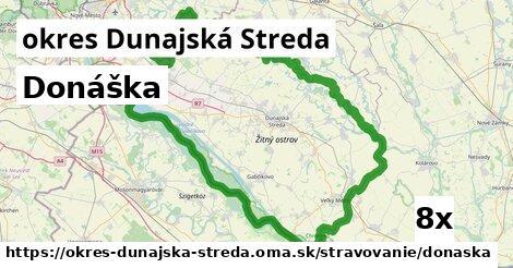 donáška v okres Dunajská Streda