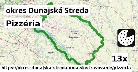 ilustračný obrázok k Pizzéria, okres Dunajská Streda