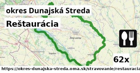 ilustračný obrázok k Reštaurácia, okres Dunajská Streda