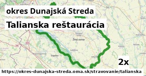 ilustračný obrázok k Talianska reštaurácia, okres Dunajská Streda