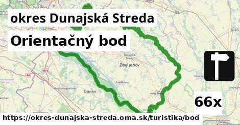 ilustračný obrázok k Orientačný bod, okres Dunajská Streda