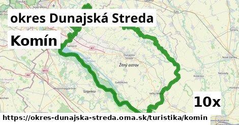 komín v okres Dunajská Streda