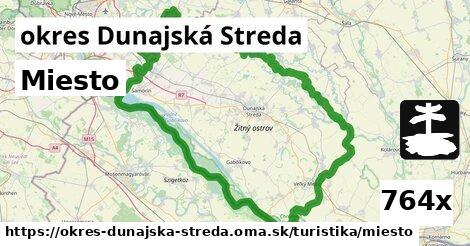 ilustračný obrázok k Miesto, okres Dunajská Streda