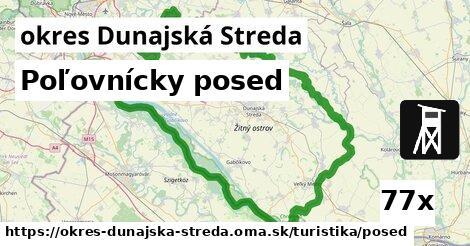 ilustračný obrázok k Poľovnícky posed, okres Dunajská Streda