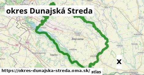 strom v okres Dunajská Streda