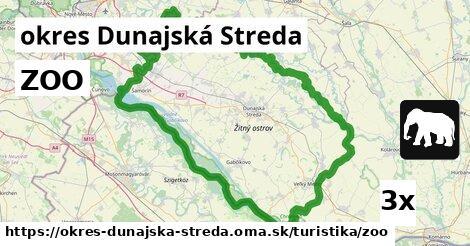 ilustračný obrázok k ZOO, okres Dunajská Streda