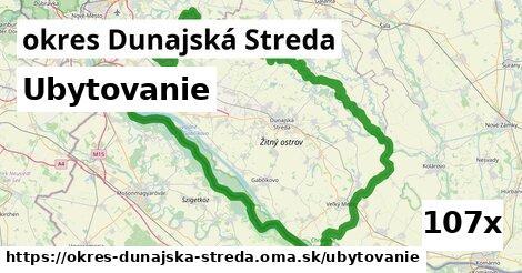 ubytovanie v okres Dunajská Streda