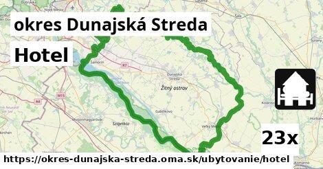ilustračný obrázok k Hotel, okres Dunajská Streda