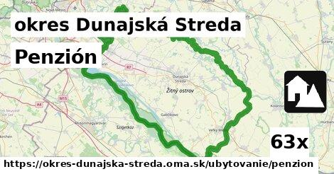 penzión v okres Dunajská Streda