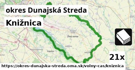 ilustračný obrázok k Knižnica, okres Dunajská Streda
