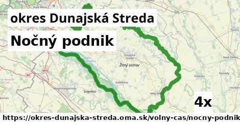ilustračný obrázok k Nočný podnik, okres Dunajská Streda