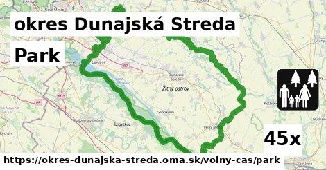 park v okres Dunajská Streda