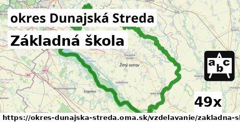 ilustračný obrázok k Základná škola, okres Dunajská Streda