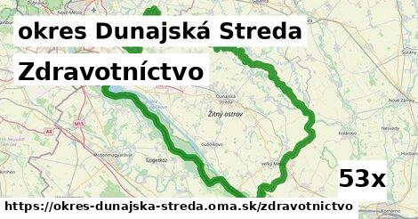zdravotníctvo v okres Dunajská Streda