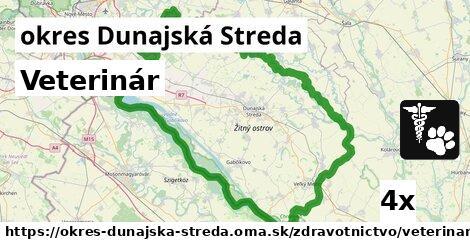 ilustračný obrázok k Veterinár, okres Dunajská Streda