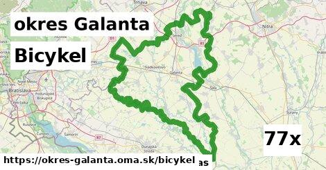 bicykel v okres Galanta
