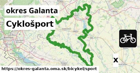 ilustračný obrázok k Cyklošport, okres Galanta