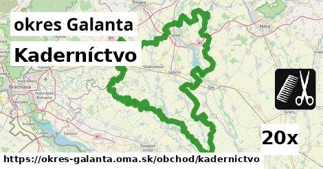 ilustračný obrázok k Kaderníctvo, okres Galanta