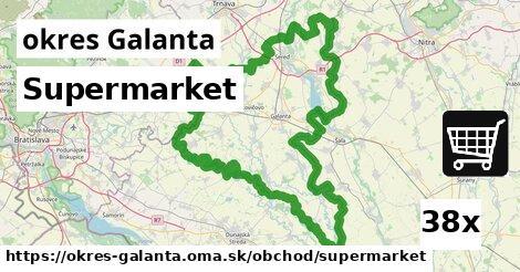 supermarket v okres Galanta