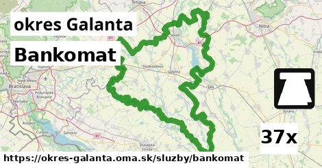 ilustračný obrázok k Bankomat, okres Galanta