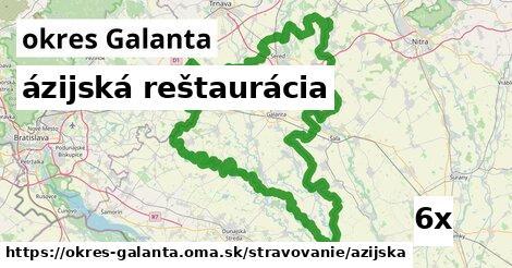 ázijská reštaurácia v okres Galanta