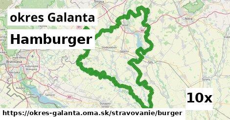 ilustračný obrázok k Hamburger, okres Galanta