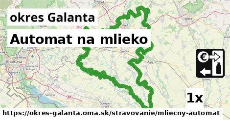 ilustračný obrázok k Automat na mlieko, okres Galanta