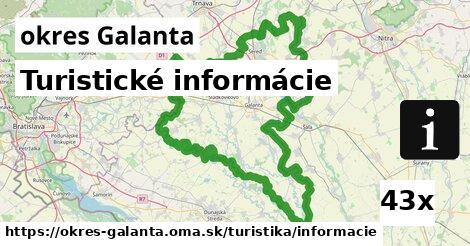 turistické informácie v okres Galanta