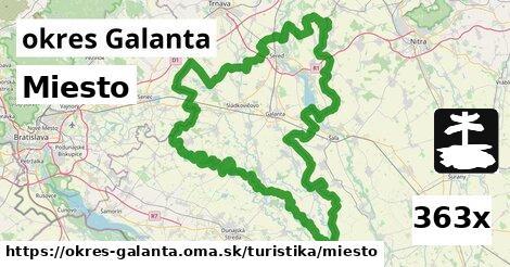 ilustračný obrázok k Miesto, okres Galanta