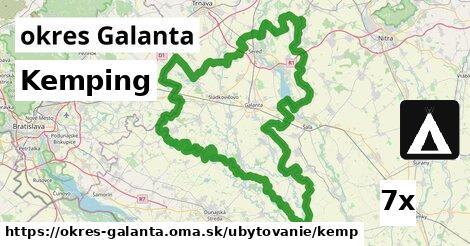 kemping v okres Galanta