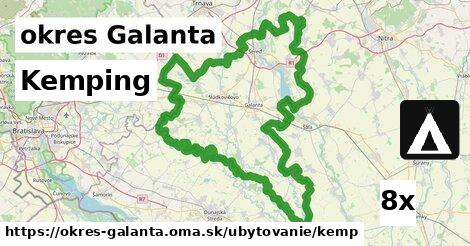 ilustračný obrázok k Kemping, okres Galanta