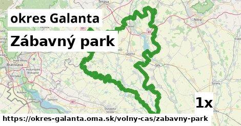 ilustračný obrázok k Zábavný park, okres Galanta