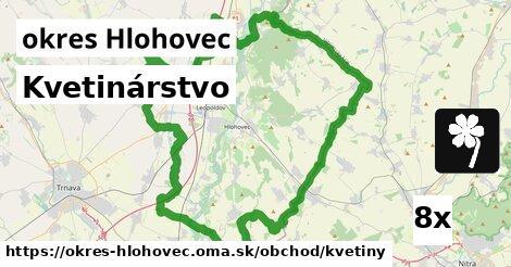 ilustračný obrázok k Kvetinárstvo, okres Hlohovec
