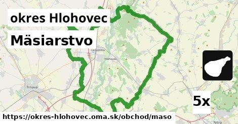ilustračný obrázok k Mäsiarstvo, okres Hlohovec