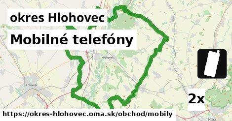 ilustračný obrázok k Mobilné telefóny, okres Hlohovec