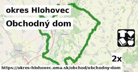 ilustračný obrázok k Obchodný dom, okres Hlohovec