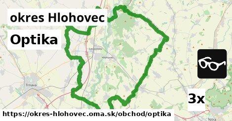 ilustračný obrázok k Optika, okres Hlohovec