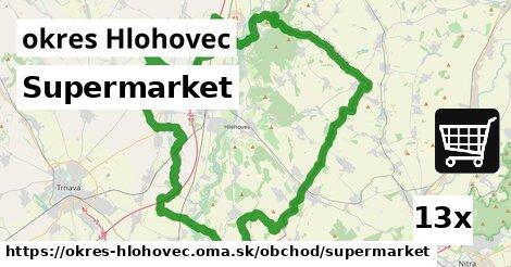ilustračný obrázok k Supermarket, okres Hlohovec